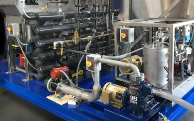 Flotation Without Dissolved Air®: Charged microbubbles for enhanced removal of suspended solids in wastewater applications.